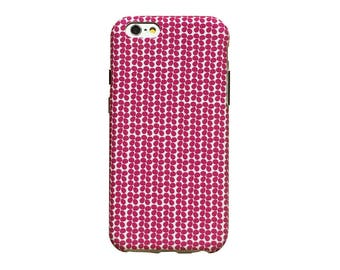 Hot pink petals phone case for an iphone 7 or iphone 7 Plus