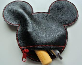 """Purse """"Mickey/Minnie Head medium"""""""