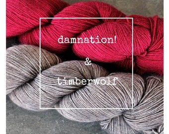 Damnation & Timberwolf Yak Attack Pack for Kirsten Kapur's MKAL