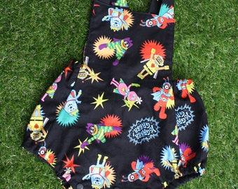 Yo Gabba Gabba - Bubble Romper Boy - Baby Girl Clothing - Summer Kids Clothing - Baby Boy Clothing - Comfy Baby Outfit - Cotton Romper