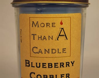 8 oz Blueberry Cobbler Soy Candle