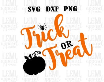 Trick or treat SVG-Halloween SVG-Trick or Treat Design-SVG-Trick or Treat cut file