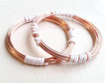 12ga solid copper wire, round dead-soft (annealed), 99.9% pure, made in the USA, choose your length 5 or 10 feet, custom lengths available