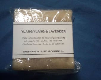 Ylang Ylang with Lavender buds Soap