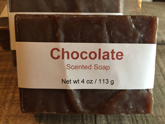 Chocolate Scented Cold Process Soap with Shea Butter