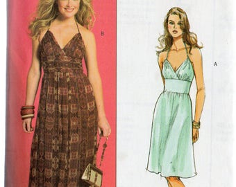 Butterick HALTER SUNDRESS by Muse Pattern 4977 Misses 14 16 18 20