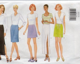 Butterick Fast & Easy CLASSICS Pattern 5390 STRAIGHT SKIRTS Misses Sizes 6 8 10