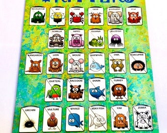 A-Z Animal Alphabet Matching Games
