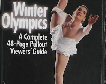 Winter Olympics, 1994 Winter Olympics TV Guide, February 12 1994, Nancy Kerrigan, Olympic Guide, 1994 Winter Olympics Review, 1994 Olympics