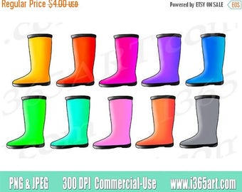 50% OFF Rain Boots clipart, rain boots clip art, rainboots clipart clip art, boot, illustration, scrapbooking, png, download, graphics