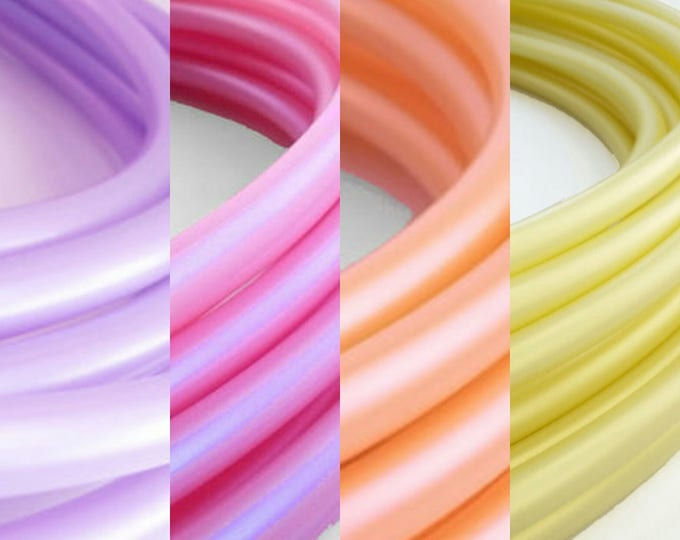 """Ombre 4 Tone Polypro Hula Hoop 3/4""""or 5/8"""" Collapsible for Travel- Push Pin Connection"""