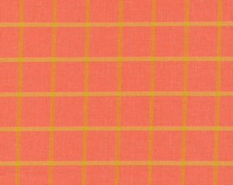 Window Dressing Yarn Dyed Plaid in Coral by Cloud 9