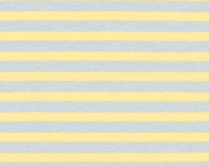 Stripes in Blue- Blake Cotton Knit by Carolyn Friedlander- Robert Kaufman