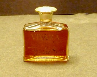 "Emilio Pucci ""Vivara"" 1/2 oz. older perfume w/ decanter made in France"