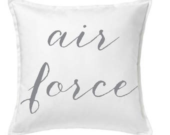 Air Force Pillow Cover
