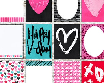 Xs & Os Journal Cards