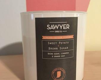 Sweet Potato Brown Sugar Soy Candle
