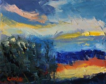 Sunset In Mesquite 3