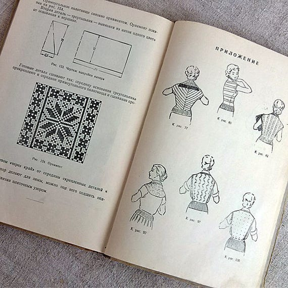 Tutorial knit how to knitted clothes knitting blueprints book tutorial knit how to knitted clothes knitting blueprints book knitting illustrated vintage knitting pattern gift ideas ussr knitters library from mywealth malvernweather Choice Image