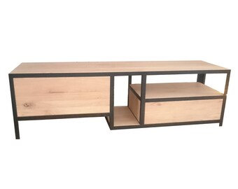 TV Furniture of steel and wood