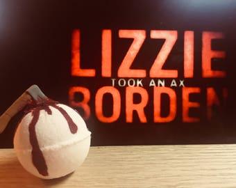 Lizzy Borden Bath Bomb