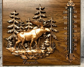 Vintage Thermometer - Souvenir of Canada