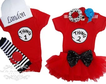 Twin Set~Baby Onesie~Baby Bodysuit~Baby Birthday Outfits for Girls~Birthday Outfit~Take Me Home Outfit Girls~Onesie~