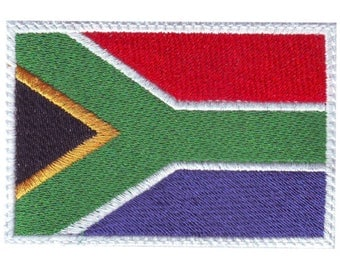 South Africa Flag Embroidered Patch