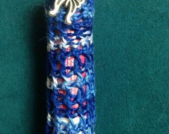 Lip Gloss Cozies, Crocheted