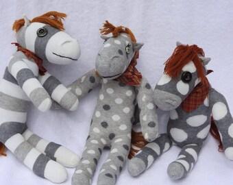 Sock horses.