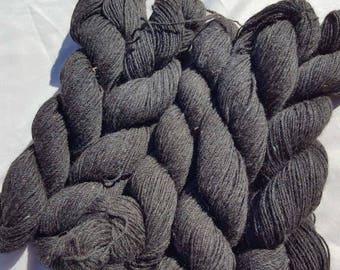 Alpaca Yarn Bundle - Black