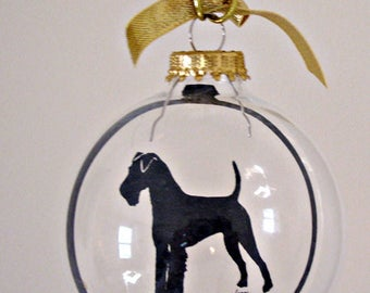 Welsh Terrier, Ornament, Gifts for Dog Lovers