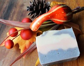 Firewood soap, mini bar soap, travel size, winter soap, scents of the season, shea butter soap, unisex soap, olive oil soap,