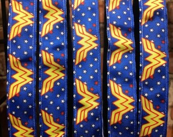 WonderWoman Blitzy Band, Non-SLIP Adjustable Headband, Nonslip headband, athletic headband, headband