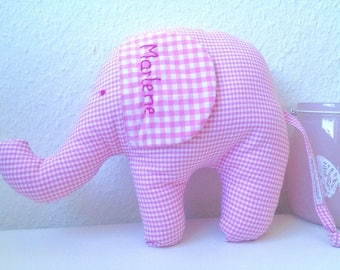 Name pillows, elephant, pillow with names