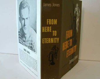 From Here To Eternity 1951 by James Jones, Vintage book, James Joyce, movie novel, From Here To Eternity