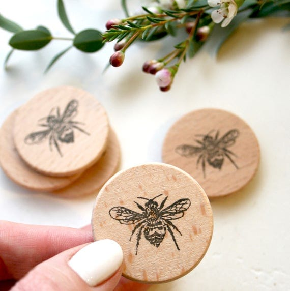 Bumble Bee Rubber Stamp - Bumblebee Stamp - HoneyBee - Bumble Bee - Insect - Bee Stamp - Stamp Store - Photopolymer Stamp - Stampingit