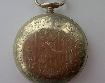 Vintage Pocket Watch Case