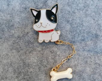 Enamel: Dog Drip Pin