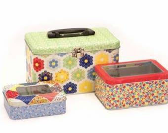 30s Playtime Nested Tins - Set of 3