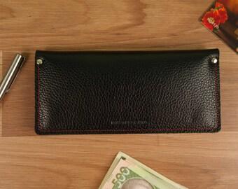 Leather wallet, Mens wallet,  Womens Wallet,  iphone wallet, leather card wallet, Leather Purse,  long leather wallet