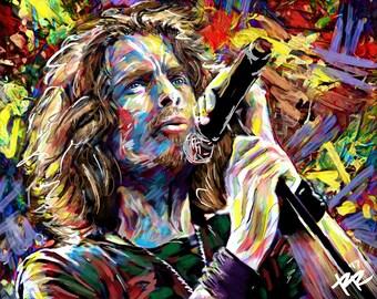 Chris Cornell Art, Soundgarden, Audioslave