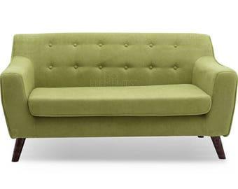 Old Fashioned Hickory Sofa Love Seat