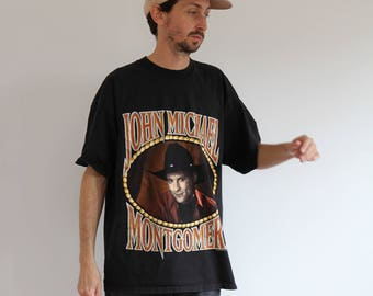 John Michael Country Music Tour Shirt Mens Large