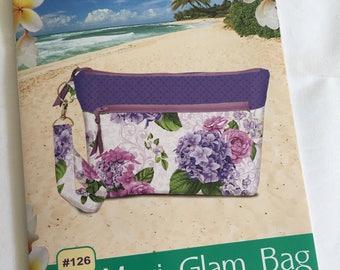 Pink Sand Beach Designs - Maui Glam Bag | cluch pattern | purse pattern