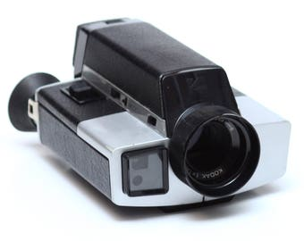 Vintage Kodak XL330 Super 8 Movie Camera Made in USA 1970s For Parts Repair Display