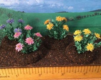 Spider Mum Plant - 1/12 scale