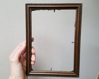 5x7 Wooden Vintage Picture Frame