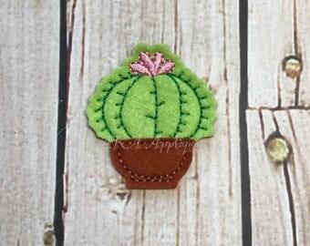Cactus 1 Feltie Embroidery Design