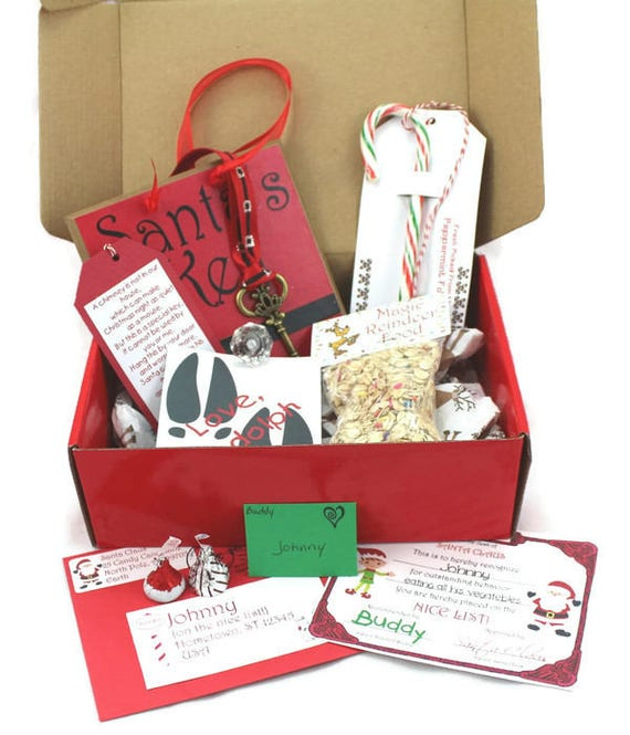 Personalized package from santa letter from santa santas for Personalized letter from santa with reindeer food